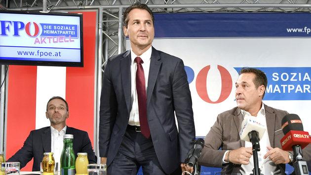 """Lugar zurück bei FPÖ: """"Kurz ist eine Mogelpackung"""" (Bild: APA/HANS KLAUS TECHT)"""