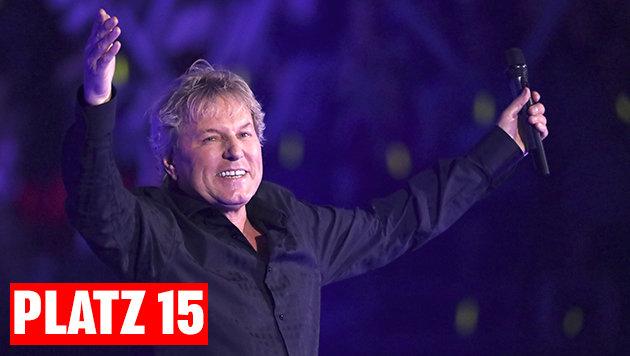 """Platz 15: Bernhard Brink mit """"Von hier bis unendlich"""". (Bild: picturedesk.com)"""