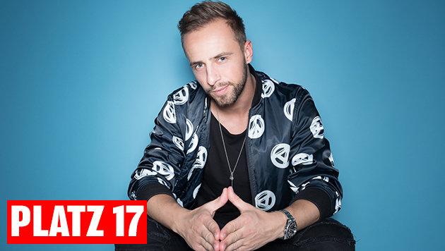 "Platz 17: DJ Rene Rodrigezz mit ""Light Up The Dark feat. Pitbull"". (Bild: Ines Thomsen)"