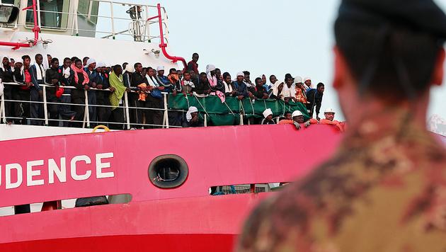 Ärzte ohne Grenzen stoppt Mission im Mittelmeer (Bild: AFP)