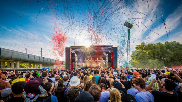 Bunte Feierlaune nonstop: Vom 15. bis zum 17. August ist am Frequency Partystimmung garantiert. (Bild: Kronen Zeitung)