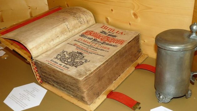 Seltenes Werk von Martin Luther aus dem Jahr 1747 (Bild: www.salzburgermuseen.at)