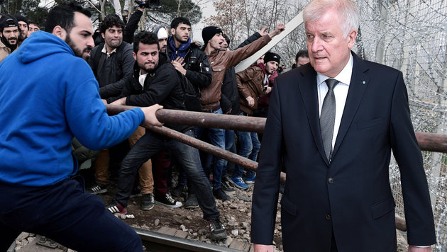 Bayerns Ministerpräsident Horst Seehofer spricht offen die Problematik bei Abschiebungen an. (Bild: APA/dpa/Sven Hoppe, AFP/LOUISA GOULIAMAKI)
