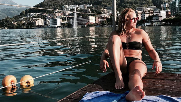 Erholung in Lugano: Ski-Queen Lara Gut genießt den Sommer! (Bild: instagram.com/Lara Gut)