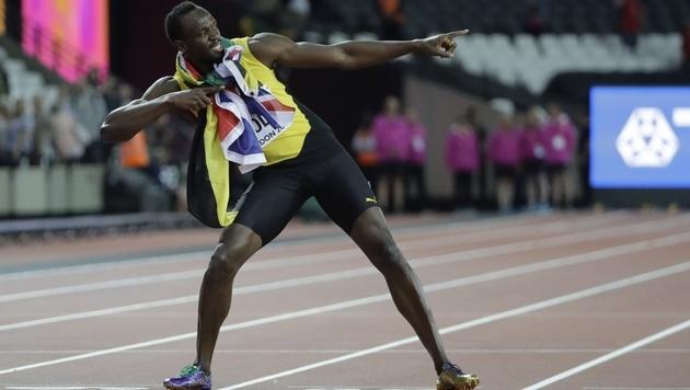 """Usain Bolt: """"Ich kann endlich das Leben genießen"""" (Bild: AP)"""