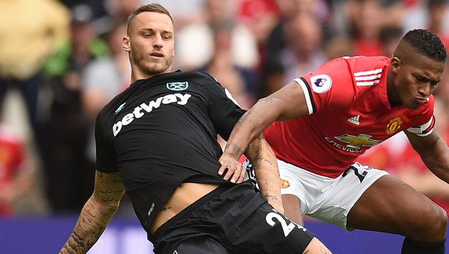 """0:4 bei ManU! """"Arnie"""" verliert mit West Ham (Bild: AFP)"""