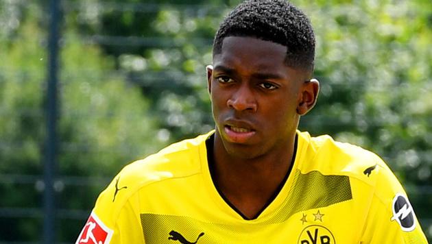 BVB-Supertalent Dembele bleibt vorerst suspendiert (Bild: AFP)