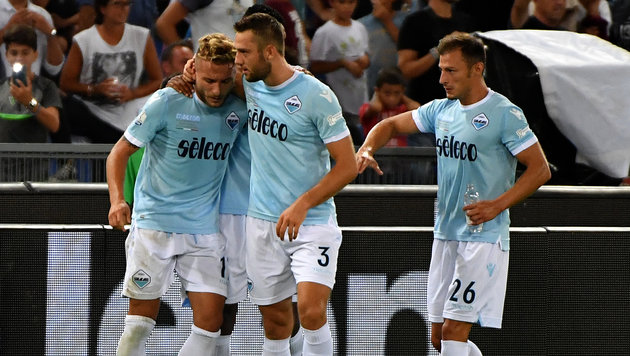 Lazio Rom gewinnt Supercup gegen Juventus (Bild: AFP)