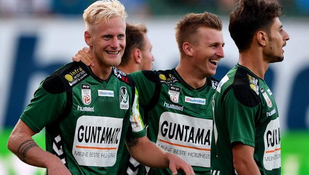4:1! SV Ried zerlegt Wacker Innsbruck (Bild: GEPA)