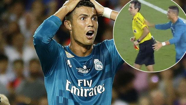 Real im Rückspiel gegen Barca doch mit Ronaldo? (Bild: AP, YouTube.com)