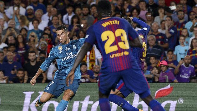 Real schlägt Barca: Ronaldo trifft und sieht Rot (Bild: AFP)