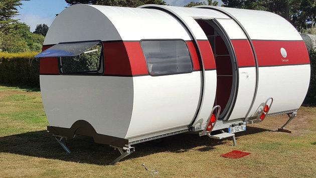 Beau-Er 3X: Geniale Wohnwagen-Tonne aus Frankreich (Bild: Beau-Er)