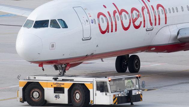 """Krankmeldungen: """"Piloten-Revolte"""" bei Air Berlin (Bild: APA/dpa/Bernd Thissen)"""