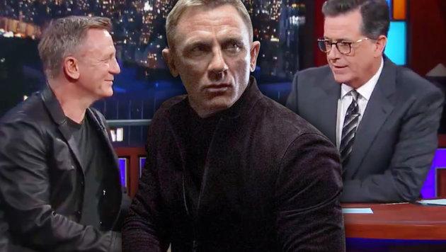 Daniel Craig bestätigt Rückkehr als James Bond (Bild: CapFSD/face to face, twitter.com, krone.at-Grafik)
