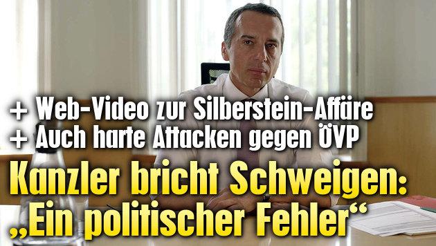 """Kanzler bricht Schweigen: """"Ein politischer Fehler"""" (Bild: facebook.com)"""
