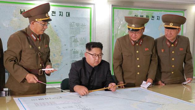 Nordkorea droht Japan mit Atombombe (Bild: AP)