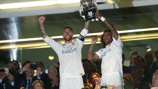 Barca auch auswärts zu schwach! Real holt Supercup (Bild: AP)