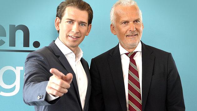 Josef Moser: Ex-Blauer nun türkiser Justizminister (Bild: APA/HERBERT PFARRHOFER)