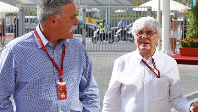 F1-Boss Carey mit Seitenhieb gegen Ecclestone (Bild: GEPA)