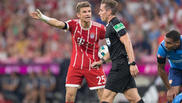 Historisch! Bayern bekommt Elfer dank Videobeweis (Bild: GEPA)