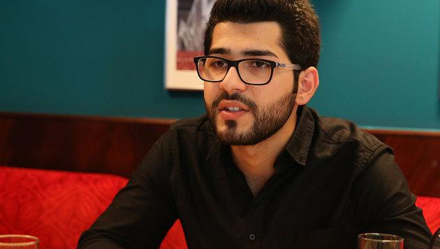 """Masoud Aqil: """"Der IS bestimmt mein Leben auf eine gewisse Weise bis heute."""" (Bild: Zwefo)"""
