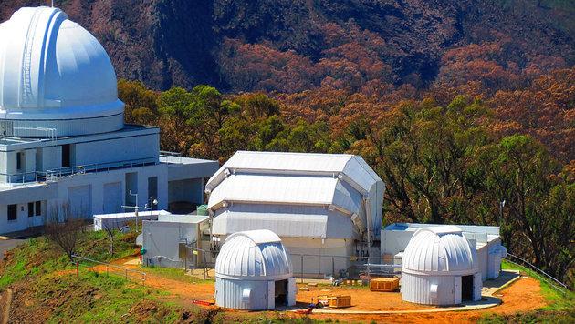 Ein Teil des Siding-Spring-Observatoriums in Australien (Bild: Las Cumbres Observatory)