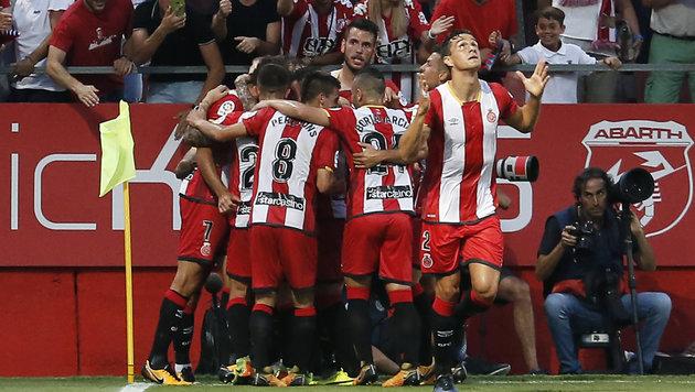 Kayode holt bei Girona-Debüt Punkt gegen Atletico (Bild: AFP)