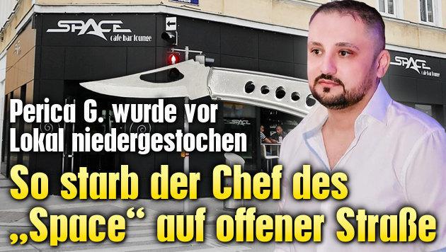"""So starb der Chef des """"Space"""" auf offener Straße"""