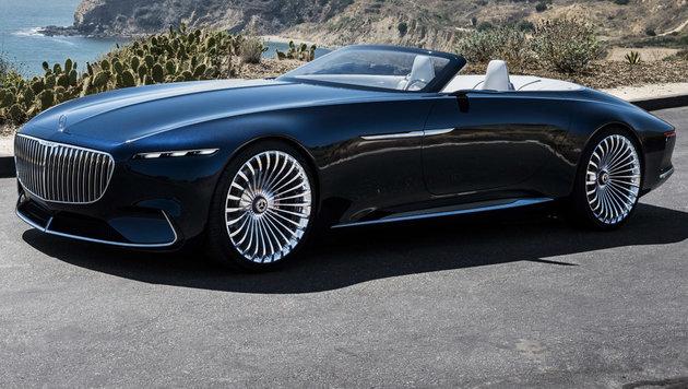 Mercedes-Maybach 6: Das schönste Cabrio der Welt? (Bild: Daimler)