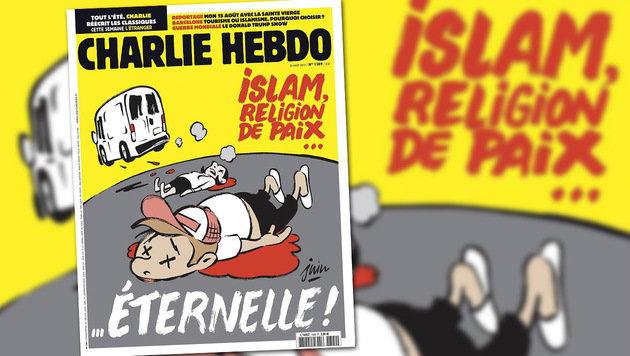 """""""Charlie Hebdo"""" sorgt mit Titelseite für Aufregung (Bild: facebook.com/CharlieHebdoOfficiel)"""
