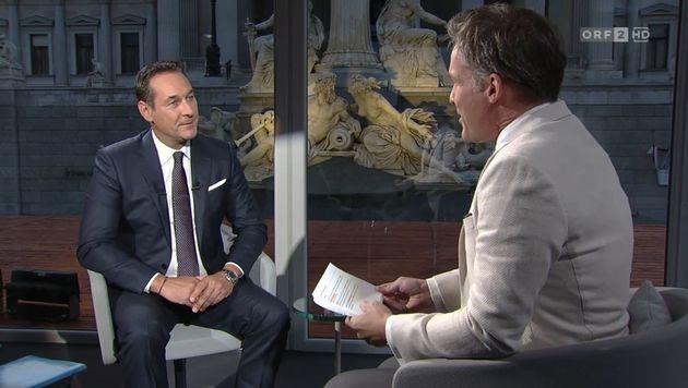 Baumgartner: Strache-Interview des ORF im Visier (Bild: tvthek.orf.at)