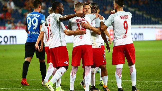 Salzburg ballert sich in die Europa League (Bild: GEPA)