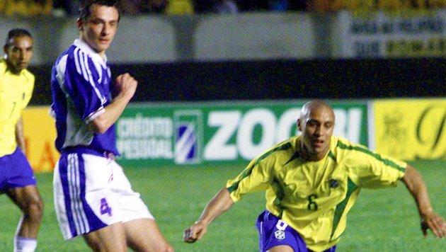 Haftbefehl gegen Ex-Real-Star Roberto Carlos (Bild: AFP)