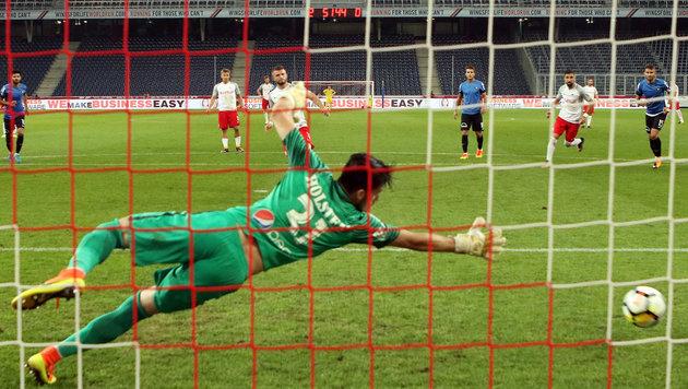 Salzburg ballert sich in die Europa League (Bild: APA/KRUGFOTO)