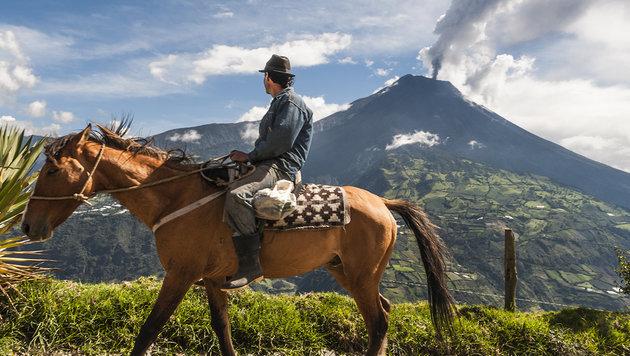 Vulkan Tungurahua (Bild: stock.adobe.com)