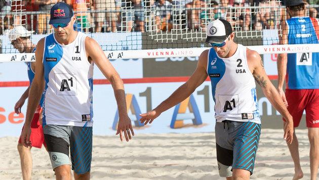 Beach-Masters: Triumph für Dalhausser/Lucena (Bild: APA/EXPA/SEBASTIAN PUCHER)