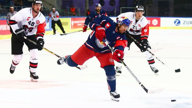 Salzburg siegt in Champions Hockey League (Bild: GEPA pictures)