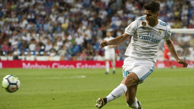 Rasur verhindert Einsatz von Real-Juwel Asensio (Bild: AFP)