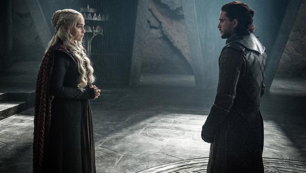 Daenerys Targaryen und Jon Snow (Bild: AP)