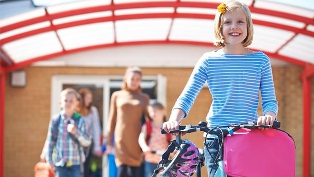 Kinder, radelt in die Schule! (Bild: highwaystarz/stock.adobe.com)