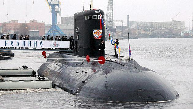Putin schickt Tarnkappen-U-Boote ins Mittelmeer (Bild: TASS/Sergei Konkov)