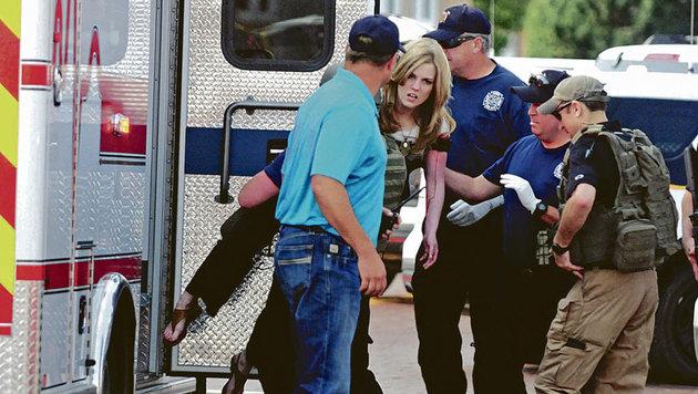 Mann schießt in US-Bücherei um sich: Zwei Tote (Bild: AP/Eastern New Mexico News)
