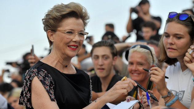 Die US-Schauspielerin Annette Bening ist Vorsitzende der Jury in Venedig. (Bild: AFP)