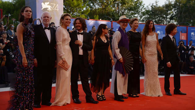 Mitglieder der Jury in Venedig (Bild: AFP)