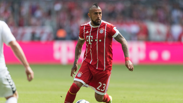 Bayern-Star Vidal: Hotel-Party bis 7 Uhr morgens (Bild: GEPA)