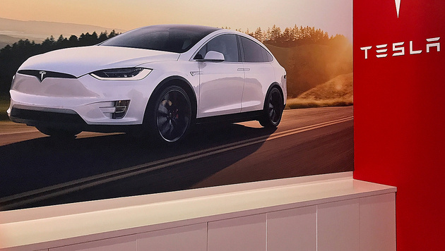 Baut Tesla seine Autos schon bald mitten in Tirol? (Bild: AFP)