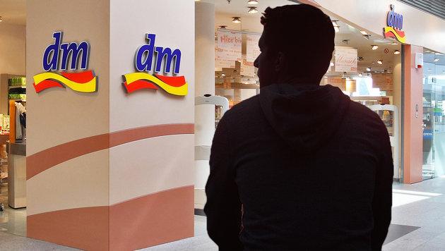 Die Hälfte von dm gehört jetzt einem 14-Jährigen (Bild: APA, stock.adobe.com, krone.at-Grafik)