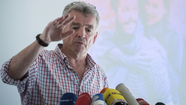 Ryanair-Chef Michael O'Leary (Bild: AP)