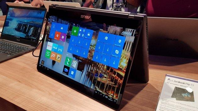 Asus bringt VR-Brille und potente 360-Grad-Laptops (Bild: Dominik Erlinger)