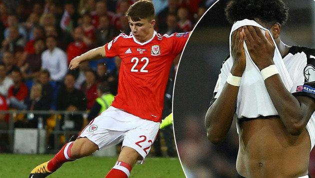 """Wales-""""Bubi"""" schießt Österreich aus der WM-Quali (Bild: AFP)"""
